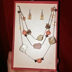 Jewelry - Multi gemstone set